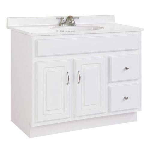 Design House 541052 RTA Vanity Cabinets, 36', White