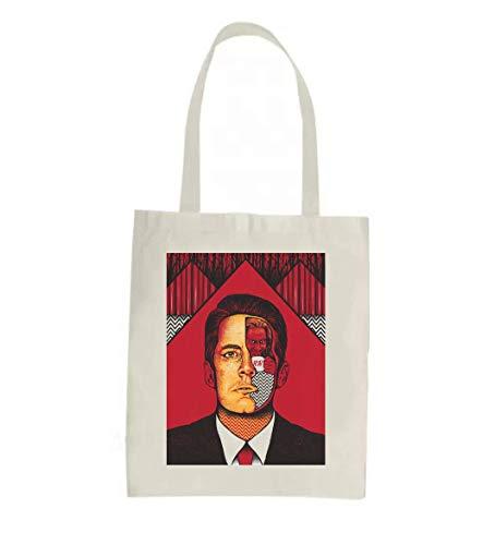 Anomis Agent Cooper Killer Bob boodschappentas - grappige boodschappentas