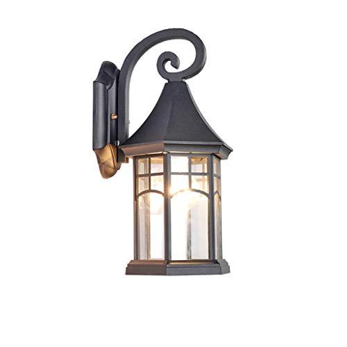 TXTC Europese stijl wandlamp voor buiten, vintage wandlantaarn, waterdichte buitenwandlampen voor huis, veranda, terras, garage, tuindecoraties