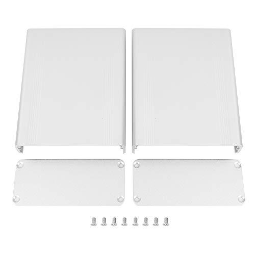 Kühlgehäuse 2 Stk. Zubehör für elektronische Schutzbox Wärmeableitungsbox 1,5 * 3,5 * 4,3 Zoll für Aluminiumbox