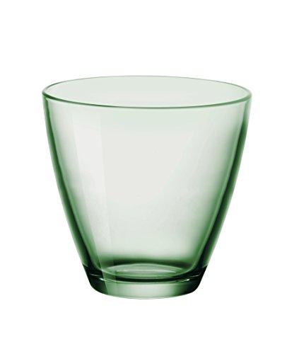 Bormioli Rocco Zeno Acqua Verde Gobelet 260 ml, Vert, 6 Verres