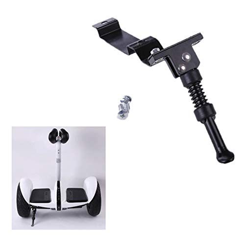 Konesky Scooter Kickstand, Portable Mini Parking Stand, Aluminum Alloy Foot Support Bracket for Xiaomi 9/9Plus Balance Car Ninebot Mini Pro Scooter 4.52 X 2.16 inch