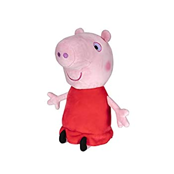 Peppa Pig Plush 8 Inch Tall Soft and Squishy Plush from The World of Peppa – for Play Time Travel Time and Bedtime - Toddler Toys - Amazon Exclusive