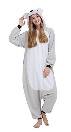 Pijama Onesie Adultos Mujer Cosplay Animal Disfraces Sleepwear Koala M