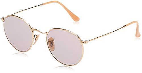 Ray-Ban 9064V8 Gafas de sol, Gold, 54 para Hombre