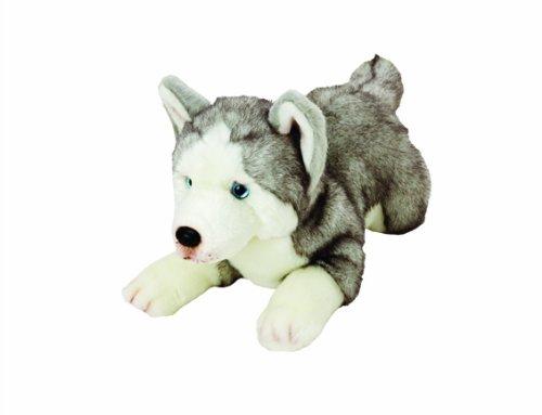Yomiko 12057 - Suki Gifts Plüschtier Husky Hund, 36 cm