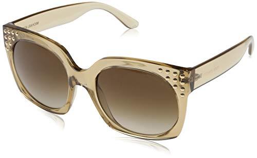 Michael Kors Damen 0MK2067 Sonnenbrille, Braun (Light Brown Crystal), 56