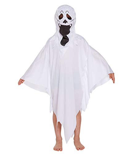 infantil Fantasma Disfraz - VARIOS COLORES, 4-6 years