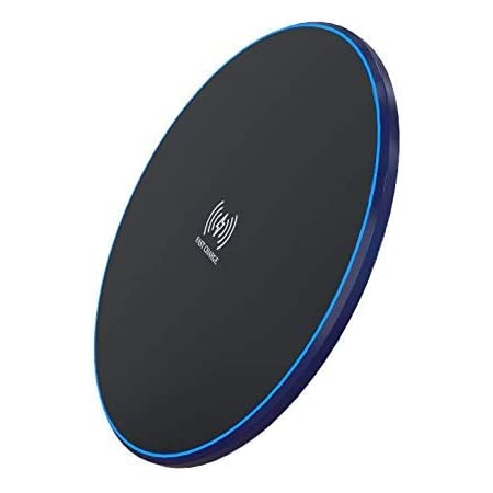 Dyazo Wireless Charger Pad 10w /7.5w /5 W for Wireless Charging Compatible with All Qi Certified Devices iPhone/Samsung/Lg Android Mobile Phones