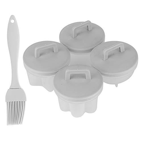 Changor Multi‑Funcional Huevo Horno, 6.5x7cm Huevo Horno Herramienta Comida‑calificación El plastico Materiales Esteras Sábana Pizza Hecho de El plastico