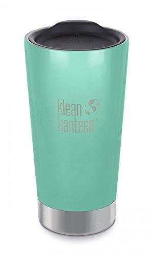 Klean Kanteen Tumbler Tasse à café isotherme avec couvercle pour adulte Motif Sea Crest Taille M