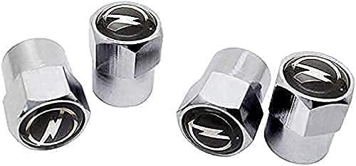 Coche Neumático Tapas Válvulas para Opel Insignia Astra Corsa Mokka, Antirrobo Antipolvo Resistente Agua Decoración Accesorio