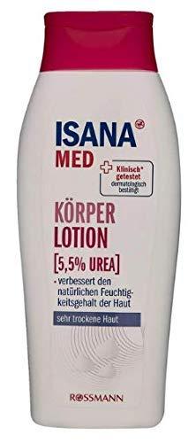ISANA MED Körperlotion (5,5% Urea) - 250ml