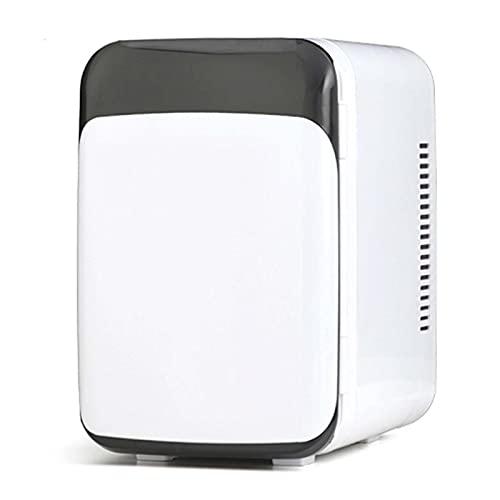 Frigorifero da 8 litri, mini frigorifero portatile, dispositivo di raffreddamento e riscaldamento, congelatore da 12 V CC 110 220 V CA, per auto da ufficio in casa