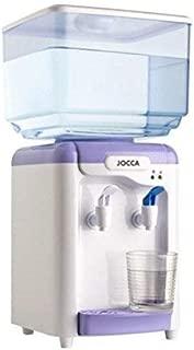 Jocca Dispensador de Agua con depósito, Blanco y Morado, 23x23x47,5 cm