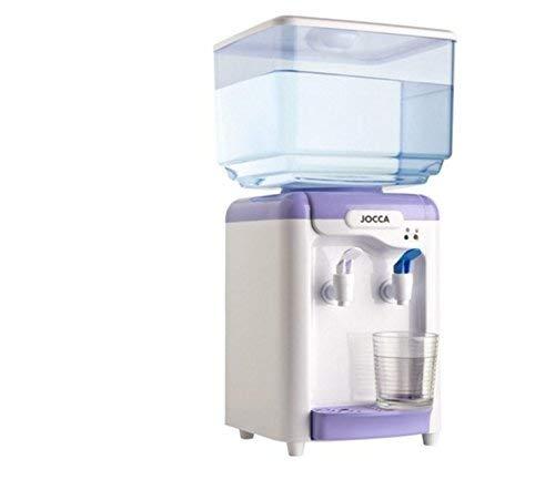 JOCCA 1102 – Distributore di acqua con serbatoio di 7 litri, 65W, Bianco/Viola