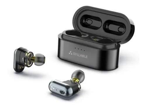 Fone De Ouvido Syllable® S101 c/Bluetooth 5.0, IPX6 e até 10h de bateria - Pronta Entrega, Já no Brasil!