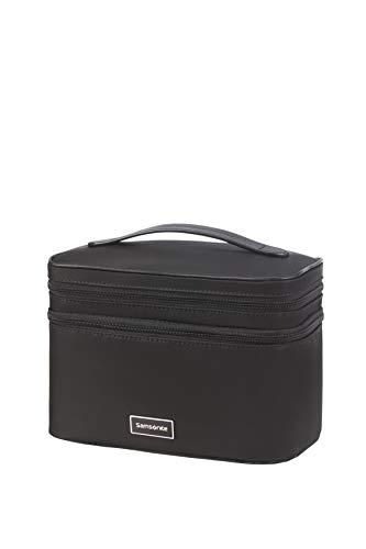 Samsonite Karissa Cosmetic Cases - Beauty Case, 23.5 cm, Nero (Black)