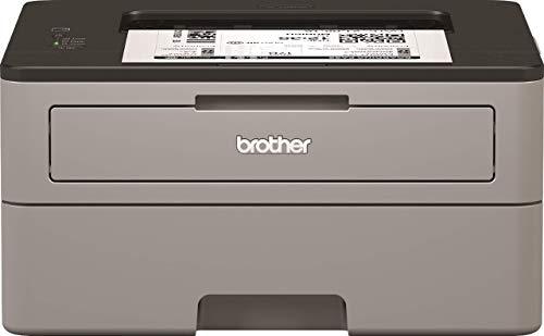 Brother HLL2310D Stampante Laser Bianco e Nero, Velocità di Stampa 30 ppm, Stampa Fronte/Retro Automatica, Interfaccia USB (no Rete, no WiFi), Display LED