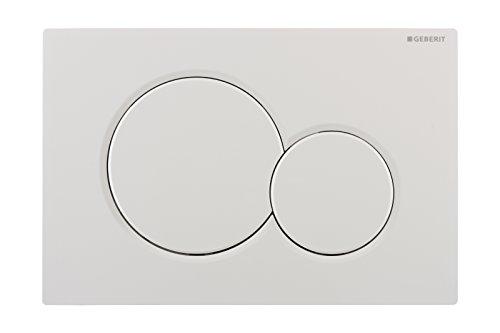 Geberit 115770115 Sigma01 Betätigungsplatte 115.770.115, weiß, 1 Stück