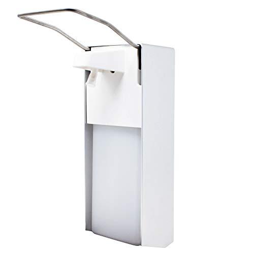ToCi Seifenspender Desinfektionsspender Armhebelspender 1000ml mit Nachfüllbehälter für Küche, Bad, WC