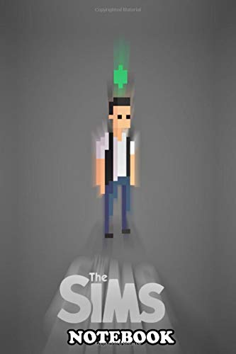Notebook: The Sims Pixels , Journal for Writing, College Ruled Size 6
