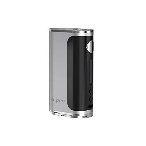 Glint Akkuträger - 75 Watt - ohne Akkuzellen - von Aspire - Farbe: silber