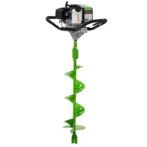 TAZZ 35365 Earth Auger/Post Hole Digger with 43cc 2 Cycle Gas Engine, 8