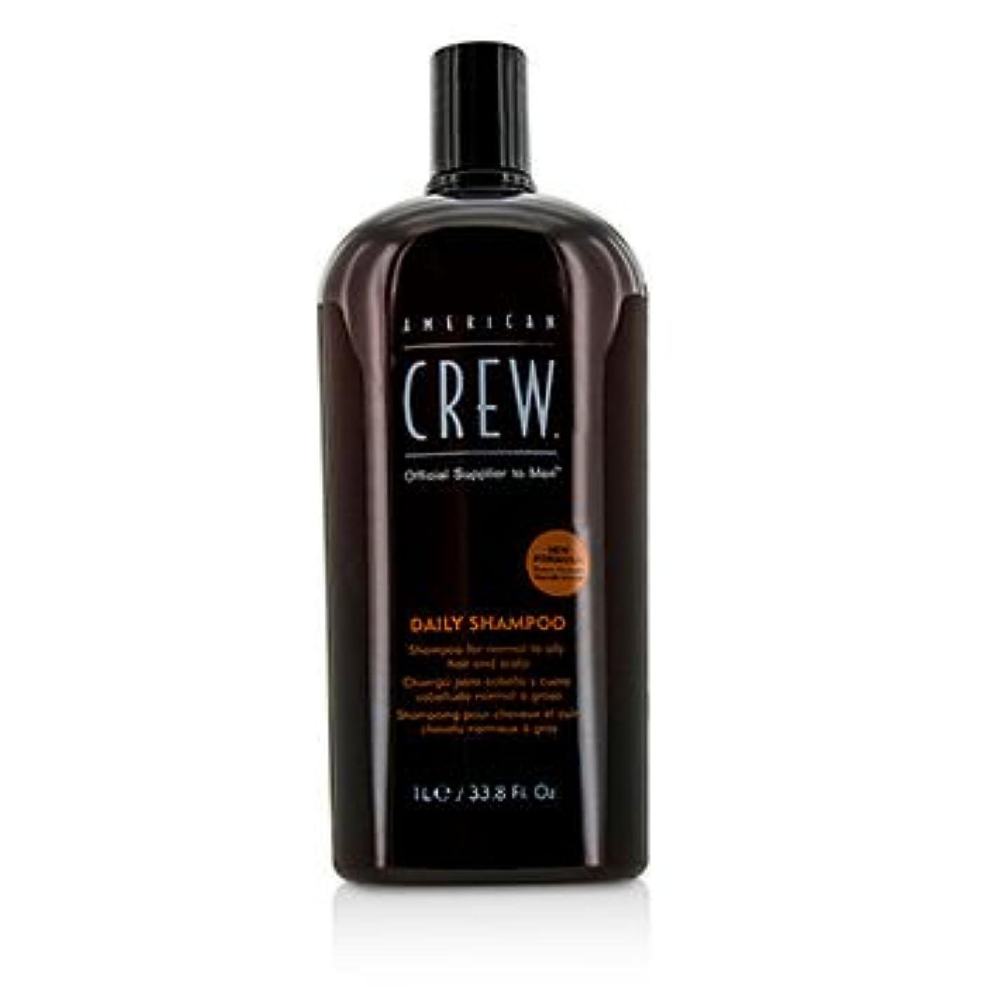 経済札入れ投げる[American Crew] Men Daily Shampoo (For Normal to Oily Hair and Scalp) 1000ml/33.8oz