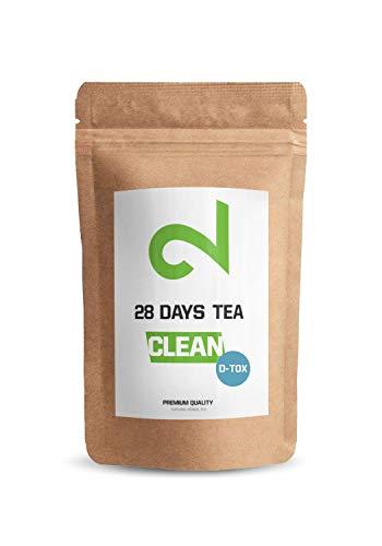 Dual 28 Days Detox Tea Per la Perdita di Peso | Tè Dimagrante E Purificante | Tè Per La Dieta E Per La Perdita Di Grasso | Integratore Alimentare Naturale | Tè A Foglia Sfusa | Made In Germany | 85g