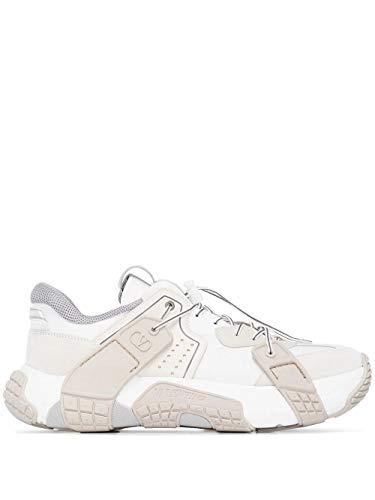 Moda De Lujo | Valentino Garavani Hombre TY2S0C75CDK22Q Blanco Poliamida Zapatillas | Ss21