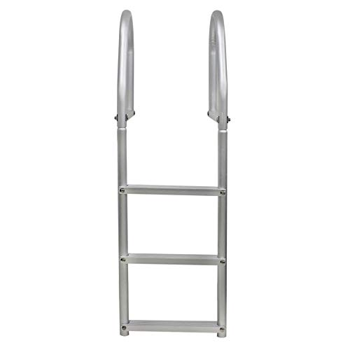 Extreme Max 3005.4102 Weld-Free Fixed Dock Ladder - 3-Step