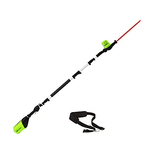 Greenworks Pro 80V 20 inch Cordless Pole Hedge Trimmer, Tool Only, PH80B00