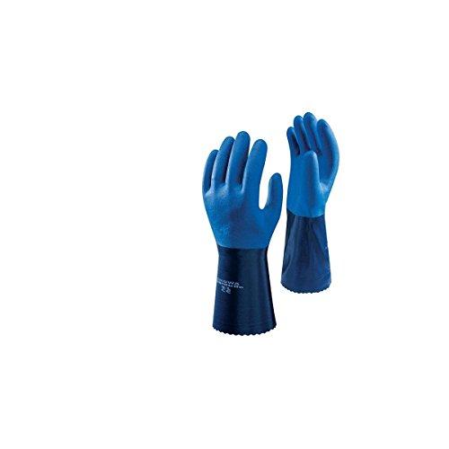 SHOWA 720R, Nitril – Beschichtung, Chemie, Blau, 10/XL