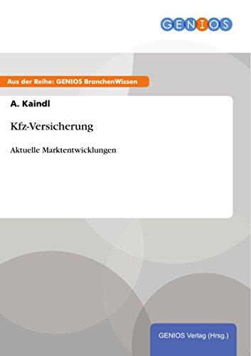 Kfz-Versicherung: Aktuelle Marktentwicklungen
