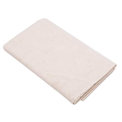 Teli in tessuto non candeggiato cotone per filtrare Per preparare con facilità formaggi cremosi in casa Lavabili e riutilizzabili Dimensione: 2 yrds (18 piedi quadrati)