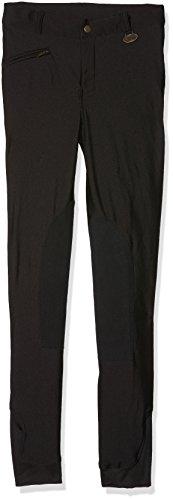 HKM Dziewczęce spodnie jeździeckie na zimę, czarne, 176