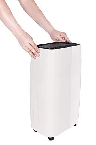 Honeywell 12 l Energy Star-Luftentfeuchter mit Überlaufschutz für ein kleines Zimmer bis zu 93m3 in Weiß