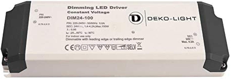 Deko-Light Netzgert, 24V, 100W, 4,2A, spannungskonstant, dimmbar, wei