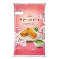 丸中 華やぐ桜のケーキ 6個×6入