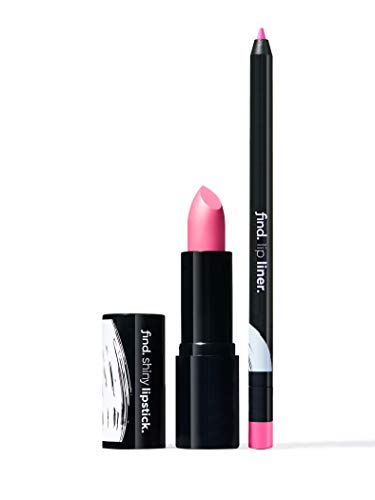 FIND - Pink Attraction (Lippenstift, glänzend n.5 + Lippenkonturstift n.10)