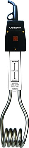 Crompton ACGIH-IHL 151/152 1500-Watt Immersion Water Heater (Black and Sliver)