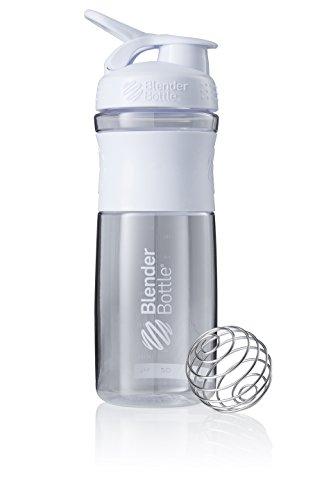BlenderBottle Sportmixer Botella de agua   Botella mezcladora de batidos de proteínas...