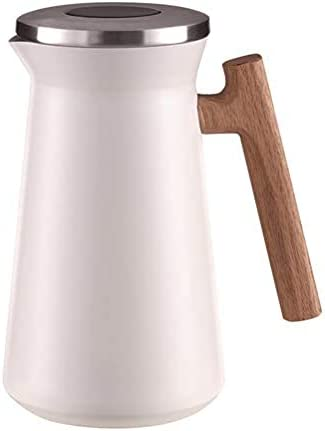 Jajayang shipfree Online limited product Thermos 1 Liter Double-Walled Coffee of Pot Stainl Made