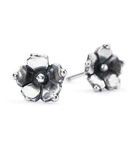 Trollbeads Silber Earring Jasmin Ohrstecker