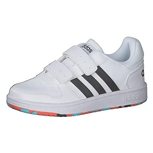 adidas Hoops 2.0 CMF C, Zapatillas, FTWBLA/NEGBÁS/NARAUT, 32 EU
