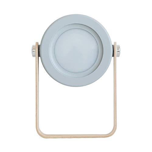 Ahomi - Lámpara LED multifuncional de escritorio para mesita de noche
