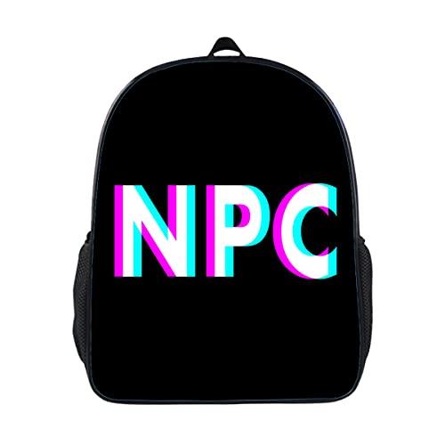 NPC Meme - Mochila de escuela para niños no jugador para niños