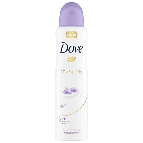 DOVE WOMENS DEO Lavender Fresh Dry Spray Antiperspirant Deodorant, 3.8 Ounce