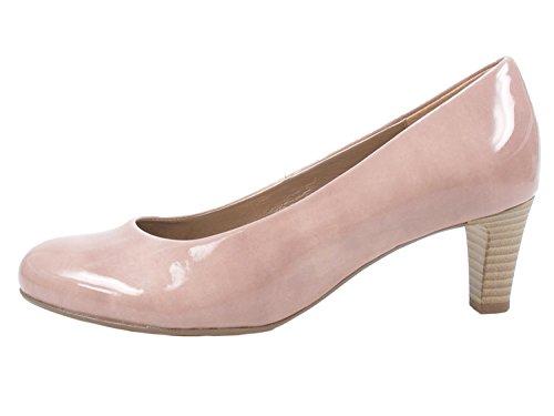 Gabor 95-300 Schuhe Damen Kaffir Lack Pumps Weite F, Größe:38 EU, Farbe:Rosa